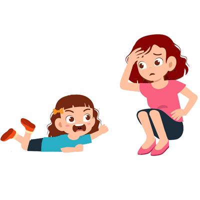لجبازی در کودکان