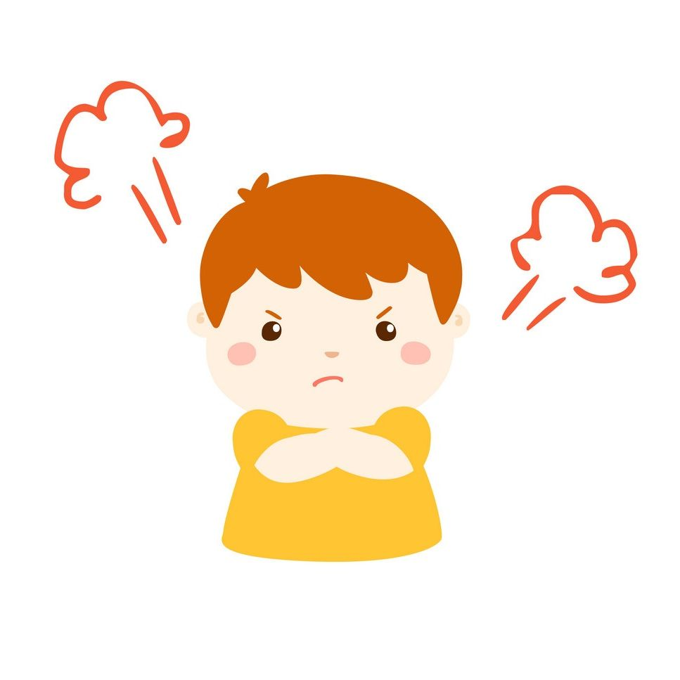 کنترل خشم در کودکان